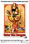 Locandina statunitense del film I tre dell\'operazione drago (1973)