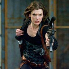 Una prima immagine per il film Resident Evil: Afterlife con la protagonista Milla Jovovich