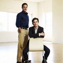 White Collar: Matthew Bomer e Tim DeKay in una foto promozionale della serie
