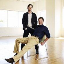 White Collar: Matthew Bomer e Tim DeKay in una immagine promozionale della serie