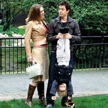 Hugh Grant in una scena di About a Boy