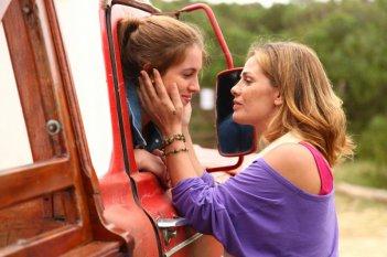 Laura Esquivel e Vanessa Incontrada nella fiction Un paradiso per due