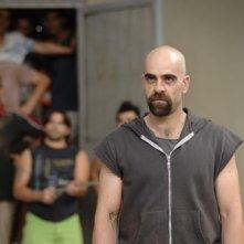 Luis Tosar in un'immagine del film Cella 211