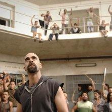 Luis Tosar in una scena del film Cella 211