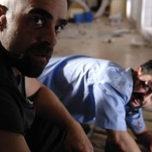 Luis Tosar in una sequenza del film Cella 211