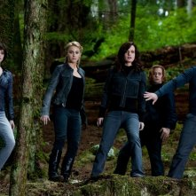 Perte della famiglia Cullen in una movimentata sequenza del film The Twilight Saga: Eclipse