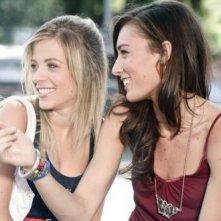 Laura Adriani e Nausicaa Benedettini in una scena del film Piazza Giochi