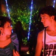 Laura Glavan e Lorenzo De Angelis in un'immagine del film Piazza Giochi