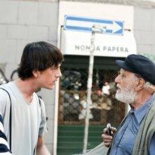 Lorenzo De Angelis in un'immagine del film Piazza Giochi