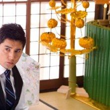 Un'immagine di Masahiro Motoki dal film Departures