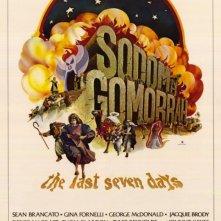 Locandina del film Sodoma e Gomorra ( 1962 )