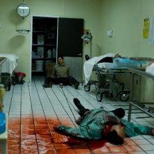 Una scena ad alto contenuto adrenalinico con Timothy Olyphant dal film The Crazies