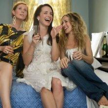 Cynthia Nixon, Kristin Davis e Sarah Jessica Parker, donne glamour per la commedia Sex and the City