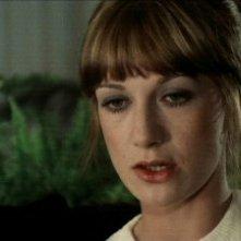 Daria Nicolodi in una scena del film Schock del 1977