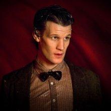 Doctor Who: Matt Smith in una scena dell'episodio The Beast Below