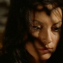 Fabienne Dali in una sequenza del film horror Operazione paura