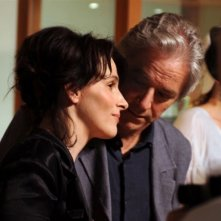 Juliette Binoche e William Shimell, protagonisti del film Copia conforme