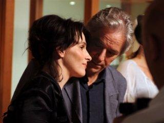 Juliette Binoche e William Shimell, protagonisti del film Copia conforme