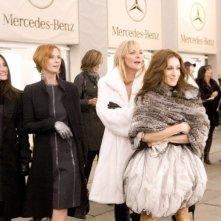 Kristin Davis, Cynthia Nixon, Kim Cattrall e Sarah Jessica Parker in un'immagine di Sex and the City