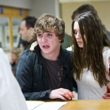 Kyle Gallner e Rooney Mara, spaventati protagonisti dell'horror Nightmare