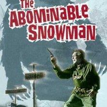 La locandina di Il mostruoso uomo delle nevi