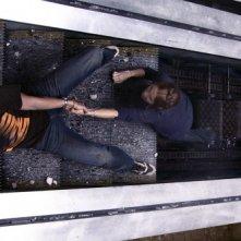 Nick (Bobby Campo) e Lori (Shantel Vansanten) in una scena dell'horror The Final Destination 3D