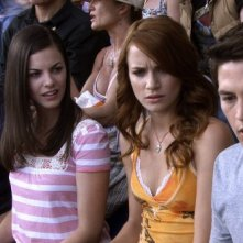 Shantel Vansanten, Bobby Campo, Nick Zano e Haley Webb in un'immagine del film The Final Destination 3D