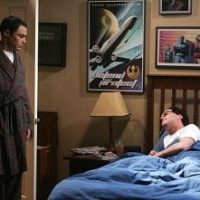 The Big Bang Theory: Johnny Galecki e Jim Parsons nell'episodio The Spaghetti Catalyst