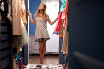 Un'immagine di Sarah Jessica Parker dalla commedia Sex and the City 2