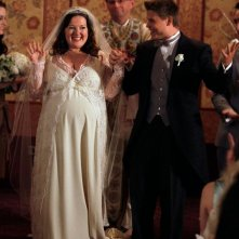 Una foto di: The Unblairable Lightness of Being di Gossip Girl durante il matrimonio di Zuzanna Szadkowski e Aaron Schwartz