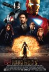 La locandina italiana di Iron Man 2