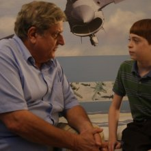 Michael Lerner e Dylan Riley Snyder in un'immagine del film Life During Wartime di Todd Solondz