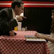 Paul Reubens e Shirley Henderson in una scena del film Life During Wartime di Todd Solondz
