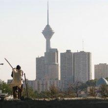 Un'immagine di Teheran tratta dal film I gatti persiani