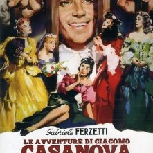 Copertina del film Le avventure di Giacomo Casanova (1955)