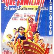 Locandina spagnola del film La famiglia Passaguai (1951)