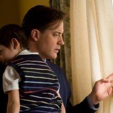 Brendan Fraser e il piccolo Diego Velazquez nel film Extraordinary Measures