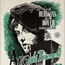 Locandina del film Arco di trionfo ( 1948 )