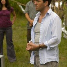 Il Dr. Caine (Tygh Runyan) in un momento dell'episodio Faith di Stargate Universe