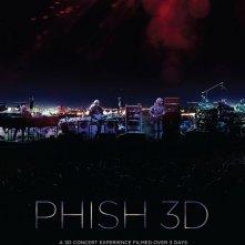 La locandina di Phish 3D