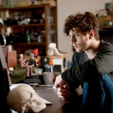 Aaron Johnson in  una scena di Chatroom