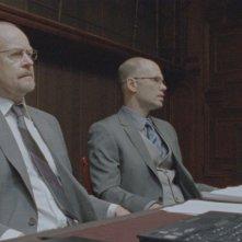 Anders Ahlbom in una scena del film La regina dei castelli di carta