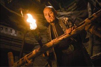 Ben Kingsley in una scena del fantasy Prince of Persia: Sands of Time