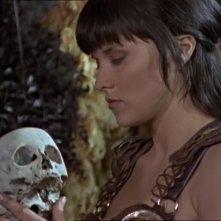 Lucy Lawless nell\'episodio Xena e Davide contro Golia