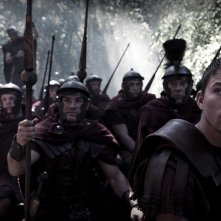 Marcus Aquila (Channing Tatum) e la sua armata in una scena del film The Eagle of the Ninth