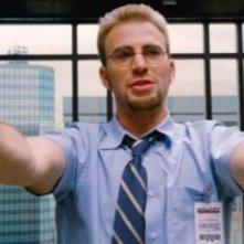 Un'immagine di Chris Evans dal film The Losers