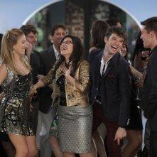 America Ferrera, Michael Urie e Becki Newton nell'episodio Hello Goodbye, finale di Ugly Betty