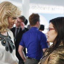 Ugly Betty: America Ferrera e Judith Light nell'episodio Hello Goodbye