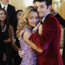 Ugly Betty: Becki Newton e Michael Urie nell'episodio The Past Presents the Future