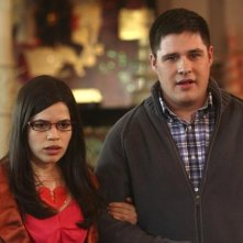 Ugly Betty: Rich Sommer ed America Ferrera nell'episodio Fire and Nice
